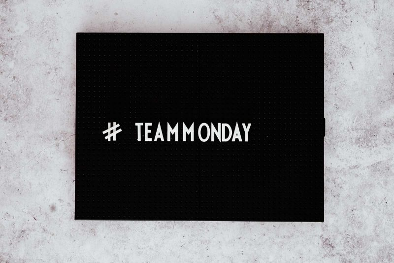 Blauwe maandag? #teammonday