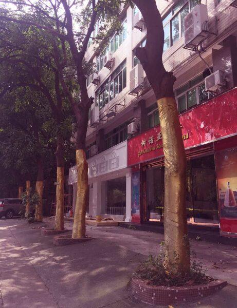 17 uur in Guangzhou: straatleven