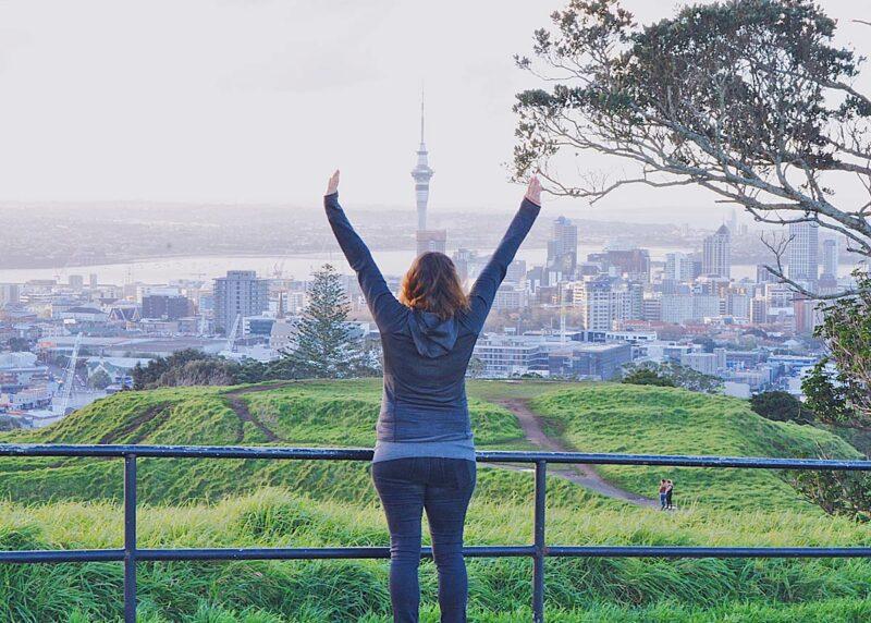 26 juli: eerste dag in Auckland, Nieuw-Zeeland