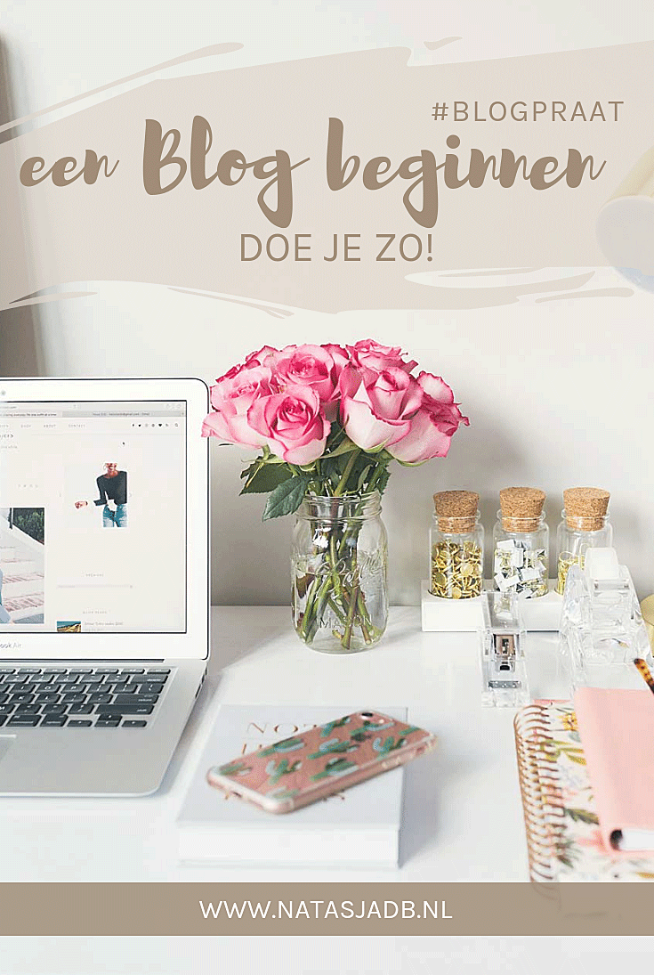 Beginnen met bloggen doe je zo!