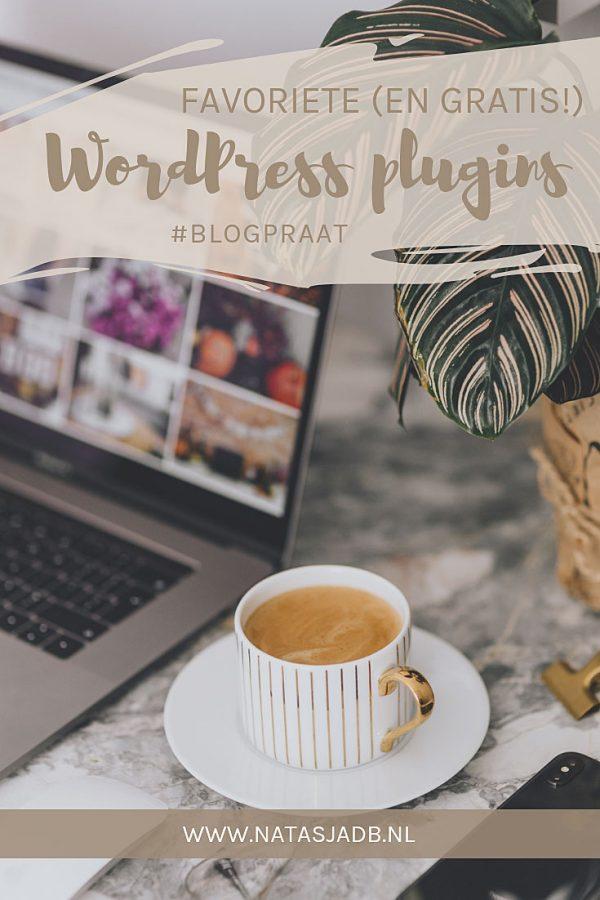 Blogpraat: mijn favoriete (en gratis!) WordPress plugins