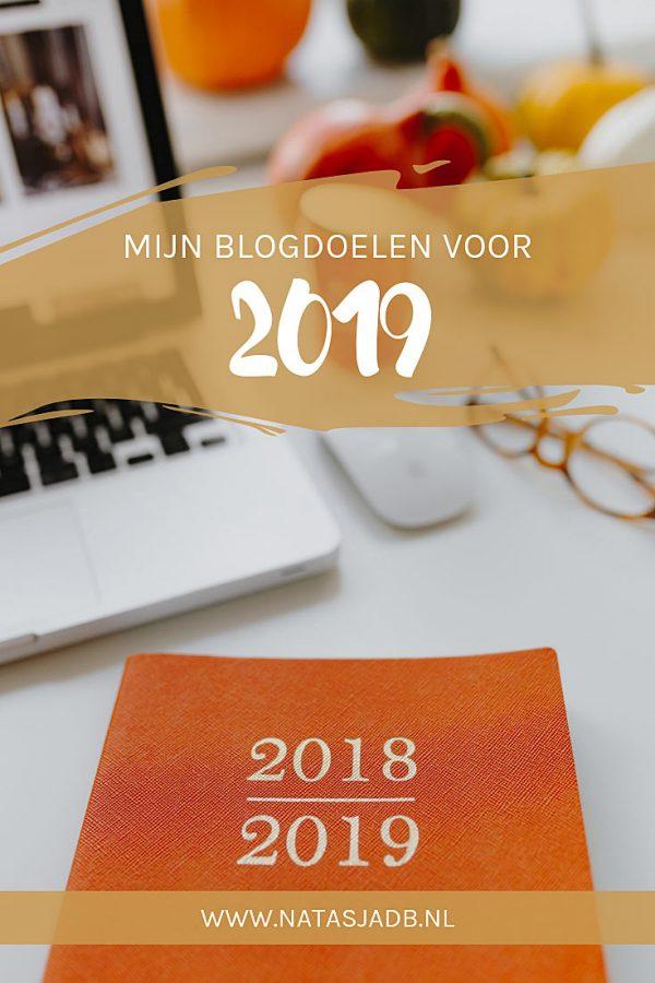 Mijn blogdoelen voor 2019