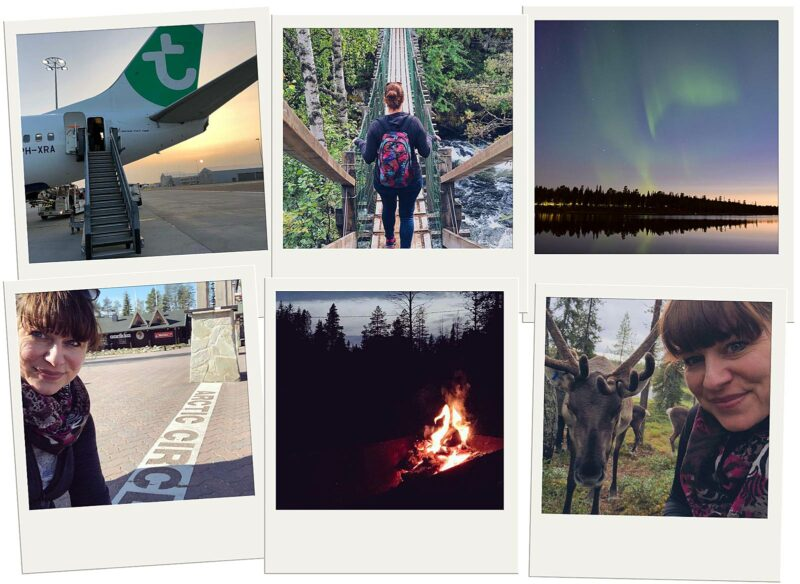 Polaroids Fins Lapland 2018