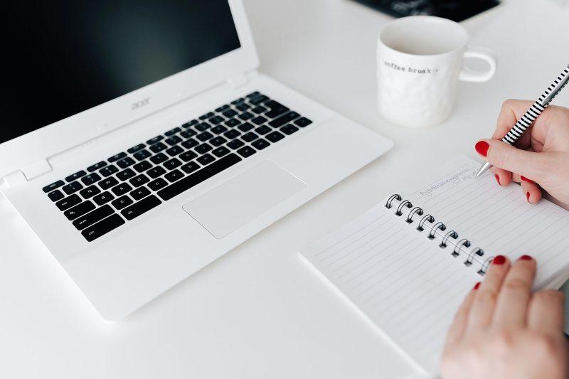 Blogtip: Schrijf blog ideeën op zodat je ze niet vergeet