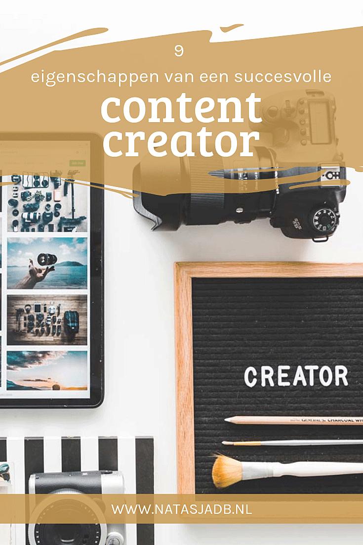 9 Eigenschappen van een succesvolle content creator