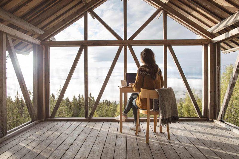 Workation: de Zweedse trend van werken op afstand (Foto door Tina Stafrén)